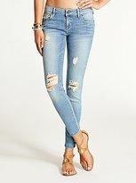 GUESS Kate Low-Rise Skinny Jeans in Juniper Wash
