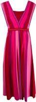 Pinko Knitted Striped Dress