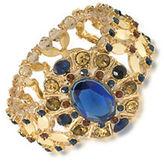 Carolee 12K Goldplated Stretch Bracelet