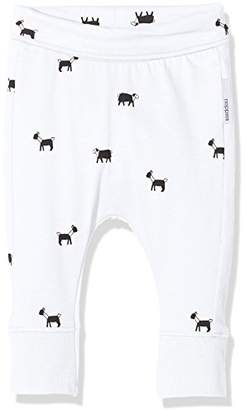 Noppies Baby U Pant Jrsy Slim Gresham Trousers, Optic White C003, 62 cm