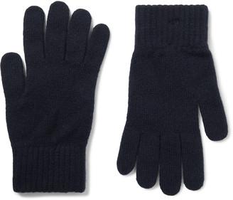 William Lockie - Cashmere Gloves - Men - Blue