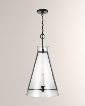 Key Stone Chapman & Myers Keystone Aged Iron 1-Light Pendant