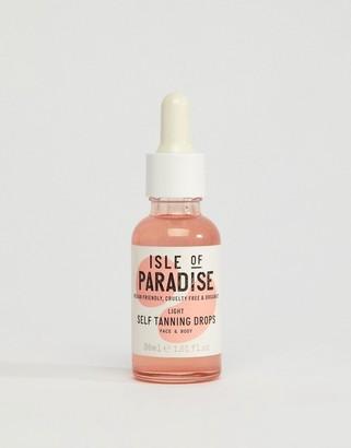 Isle of Paradise Self Tanning Drops - Light 30ml
