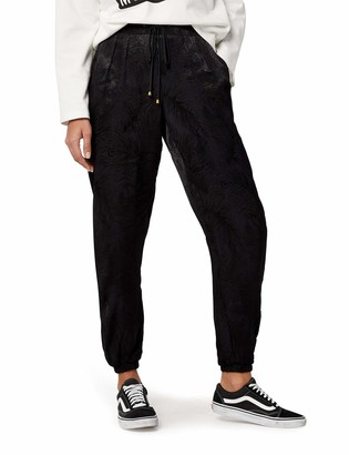 Find. Amazon Brand Feather Pattern Silky Jogger Trouser