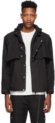 C2H4 Black Waterproof Tactical Layered Jacket