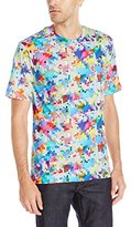 Robert Graham Men's Pixels Short Sleeve T-Shirt