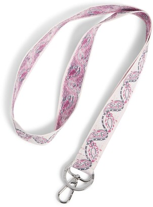 Vera Bradley Women's Signature Cotton Wide Lanyard Keyring