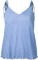 G.V.G.V. Yoryu chiffon cami top - women - Polyester/Polyurethane/Tencel - 34