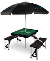 Picnic Time Picnic Table NFL Team: Carolina Panthers/Black