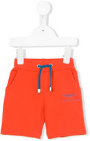 Aston Martin Kids - track shorts - kids - Cotton/Elastodiene - 6 mth