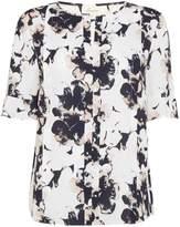Linea Belle flute sleeve blouse