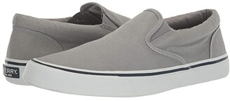 Sperry Striper II Slip-On Sneaker (SW Grey) Men's Shoes