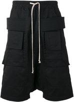 Rick Owens cargo shorts - men - Cotton - M