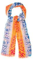 Yigal Azrouel Abstract Print Scarf