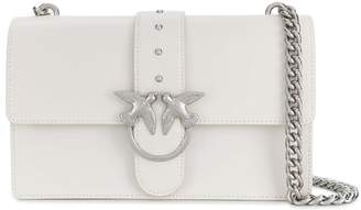 Pinko Love Classic Simply C White Crossbody Bag