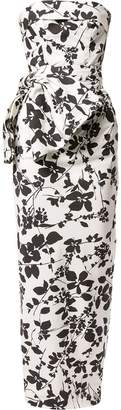 Bambah floral pencil gown