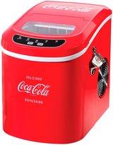Nostalgia Electrics Coca-Cola Series Ice Maker - Red