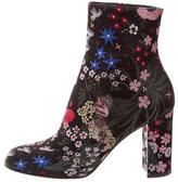 Valentino Spring Garden Ankle Boots