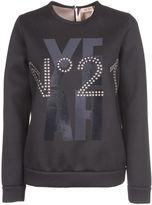 N°21 N 21 Studded Logo Sweatshirt