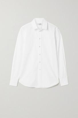 Saint Laurent Cotton-poplin Shirt - White