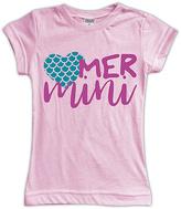 Urban Smalls Light Pink 'Mer Mini' Fitted Tee - Toddler & Girls