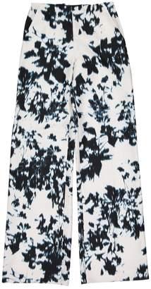 Ungaro White Cotton Trousers