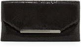 BCBGMAXAZRIA Bardot Metal Mesh Clutch Bag, Black