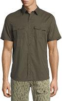 Michael Bastian Safari Cotton Sport Shirt