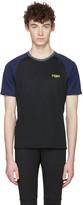 Fendi Black Activewear Logo T-shirt