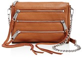 Rebecca Minkoff Five-Zip Mini Crossbody