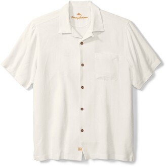 Tommy Bahama 'Is Mai Tai On Straight' Silk Short Sleeve Button-Up Shirt