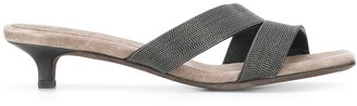 Brunello Cucinelli Asymmetric Sandals