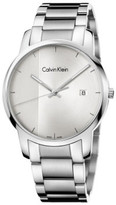 Calvin Klein City Gent Polished And Brushed Stainless Steel Bracelet