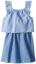 Tommy Hilfiger Two-Tone Chambray Top/Skirt Dress Girl's Dress