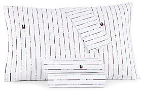 Tommy Hilfiger Vertical Stripe Sheet Set, Queen
