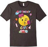Birthday girl with emoji Shirt
