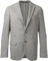 Eleventy textured blazer - men - Cotton/Acetate/Polybutylene Terephthalate (PBT) - 44