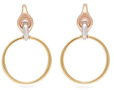 Charlotte Chesnais Halo Vermeil & Silver Earrings - Womens - Gold