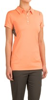 Reebok Grand Slam Polo Shirt - Short Sleeve (For Women)