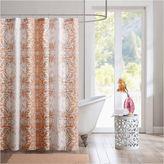 INTELLIGENT DESIGN Intelligent Design Raina Microfiber Shower Curtain