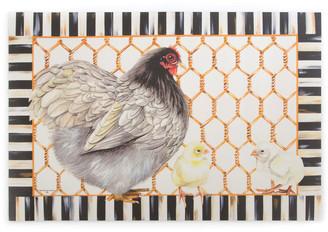 Mackenzie Childs MacKenzie-Childs Chicken Coop Floor Mat, 2' x 3'