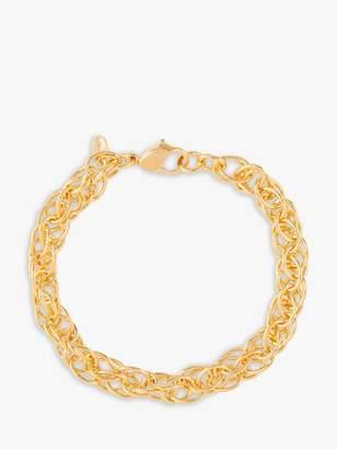 Susan Caplan Vintage Monet Gold Plated Multi Link Chain Bracelet, Gold
