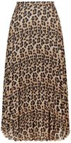 SET Leopard Print Skirt