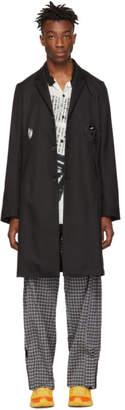 Kiko Kostadinov Black Panchali Key Long Blazer