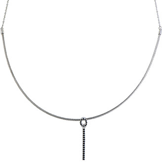 Charriol Stainless Steel 0.47 Ct. Tw. Spinel Necklace