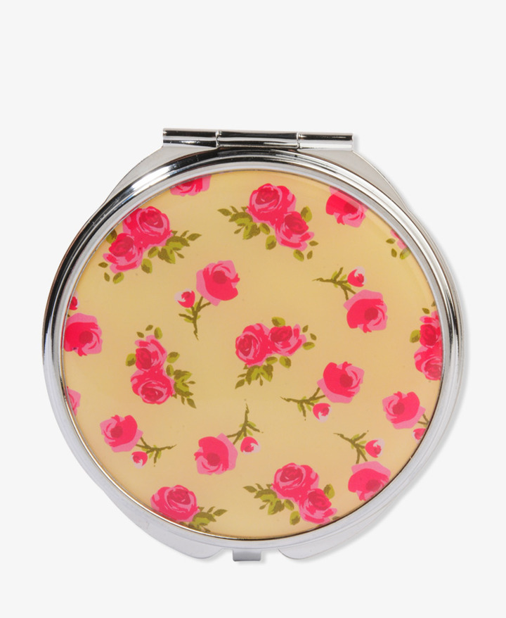Forever 21 Rosebud Mirror Compact