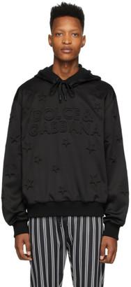 Dolce & Gabbana Black Millennial Star Hoodie