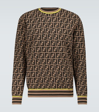Fendi FF crewneck knitted sweater