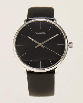 Calvin Klein K8M211C1 Silver-Tone & Black High Noon Watch