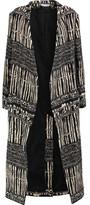 IRO Cotton-Blend Jacquard Coat